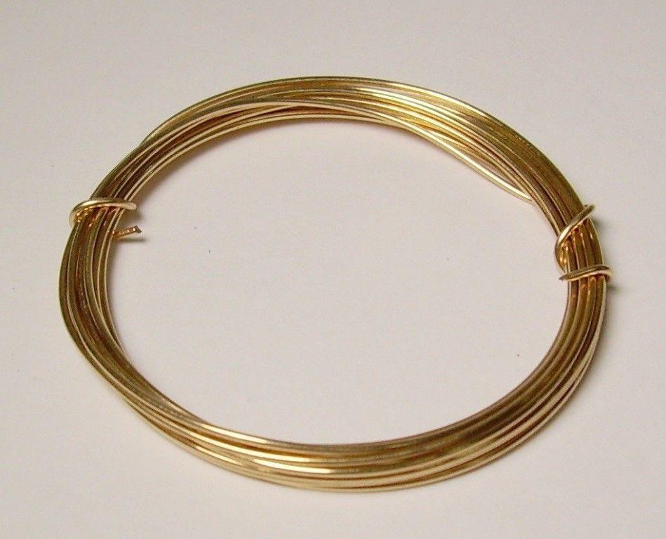20 Ga Solid Bronze Soft Round Wire 2 Oz  44 Feet On  Coil Bronze wire #ModernFindingsLLc