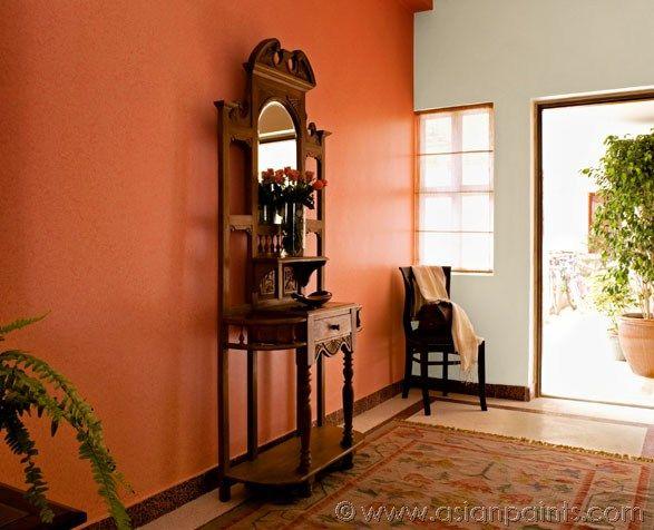 Big Living Room Paints Pink Peach Shades Jpg 587 476 Wall