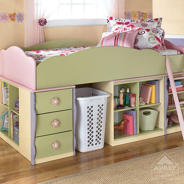 doll house loft bed low loft beds