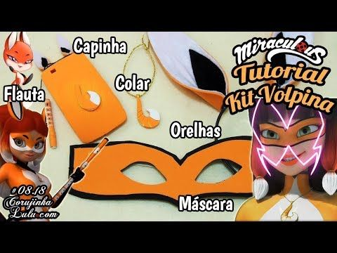 Diy Miraculous Kit Volpina Mascara