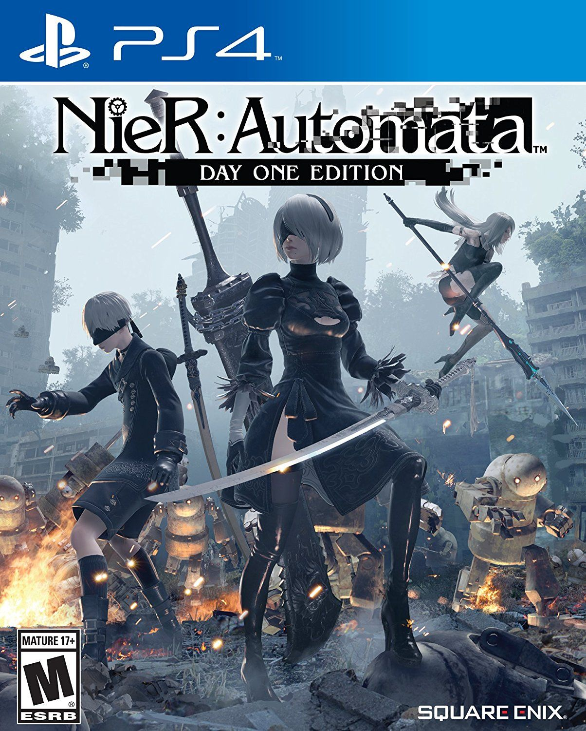 Nier Automata Game Cover Video Games Pinterest Nioh Poster Ps4 Region 3 English