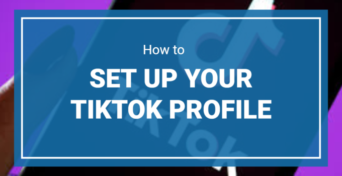 How To Set Up Your Tiktok Profile For Getting More Followers Get More Followers Profile More Followers