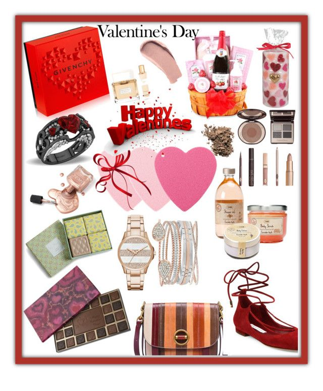 """""""valentine's day gifts"""" by mk19972000 ❤ liked on Polyvore featuring Givenchy, Tory Burch, Diane Von Furstenberg, Vera Bradley, Charlotte Tilbury, Dolce&Gabbana and Burberry"""