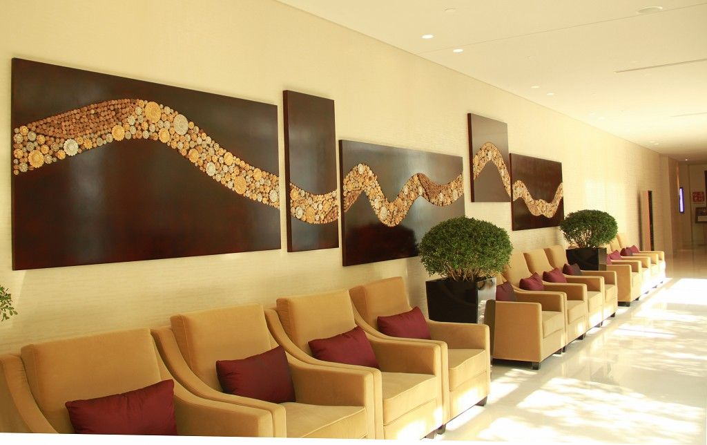Jinji Lake Grand Hotel Phase Ⅱ Suzhou, Pubilc Corridor by Art Consultant - Willow Gallery http://willow-gallery.com