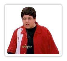 Drake and Josh: Megan! Pegatina