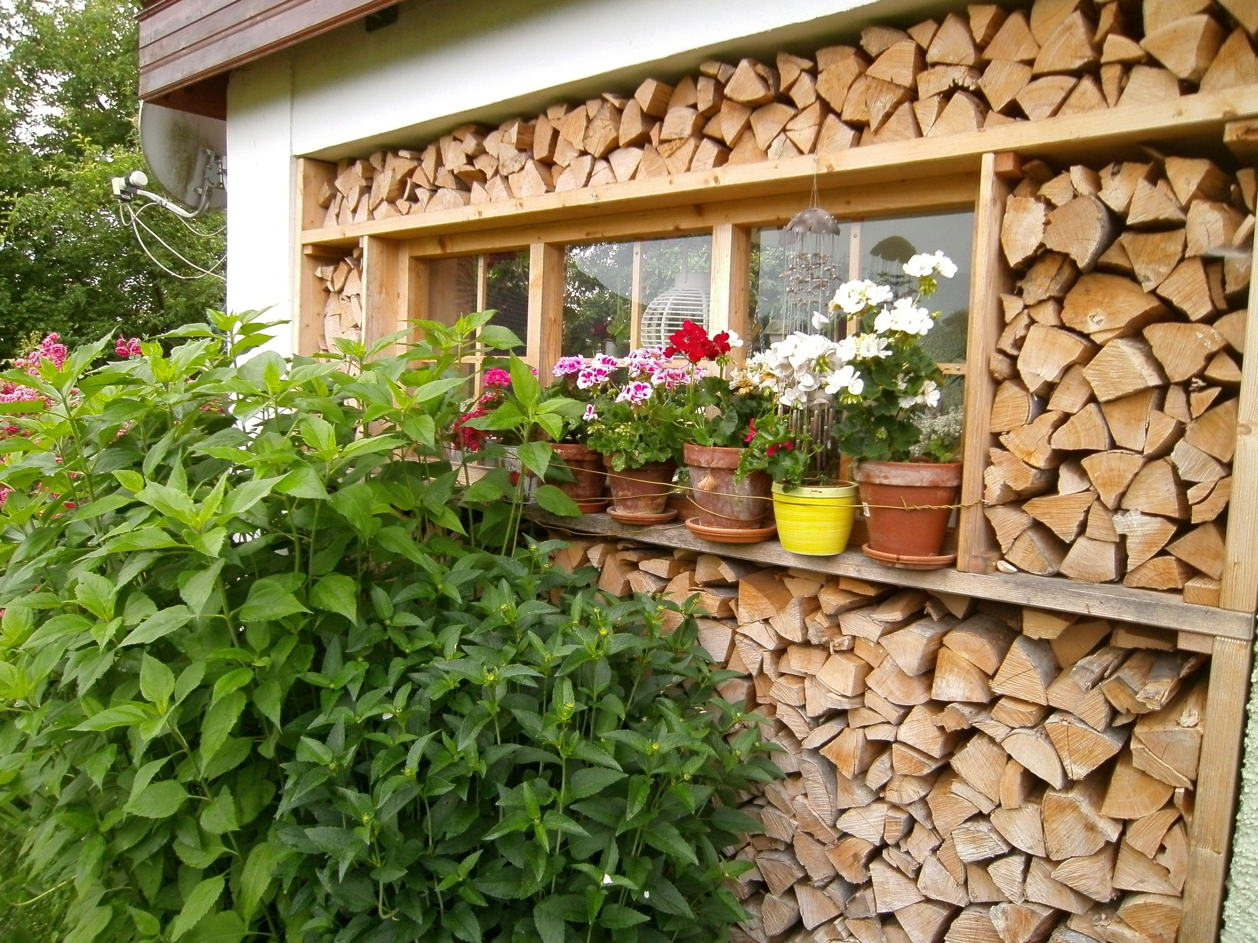 brennholz unterstand bauen holzlager f r brennholz. Black Bedroom Furniture Sets. Home Design Ideas