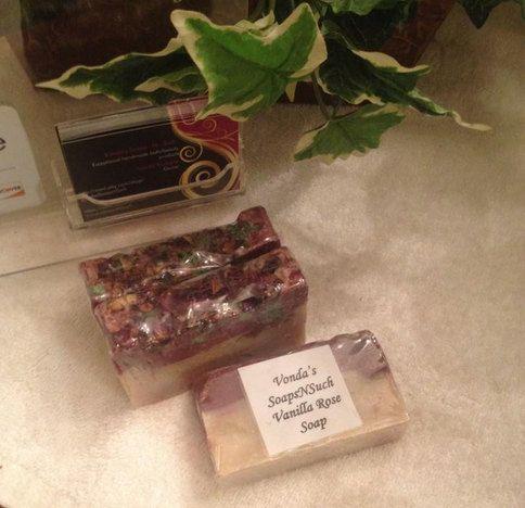 Vintage Vanilla Rose Soap