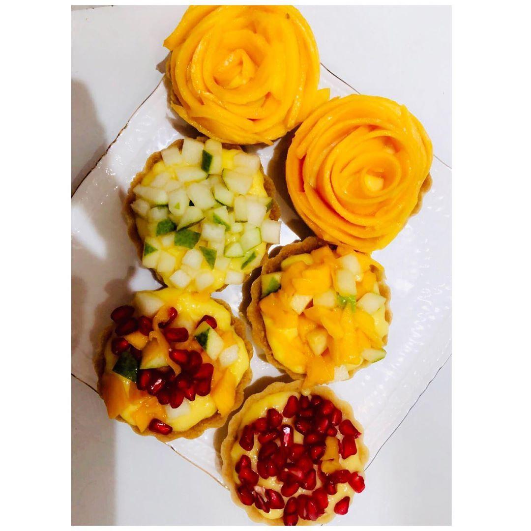 Fruit tarts🍋🍐 chef#cheflife#instafood#instapic#sweetsweet#