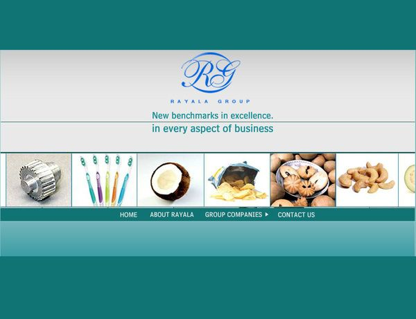 Web design -Rayala Group Project by OpenDesigns , via Behance