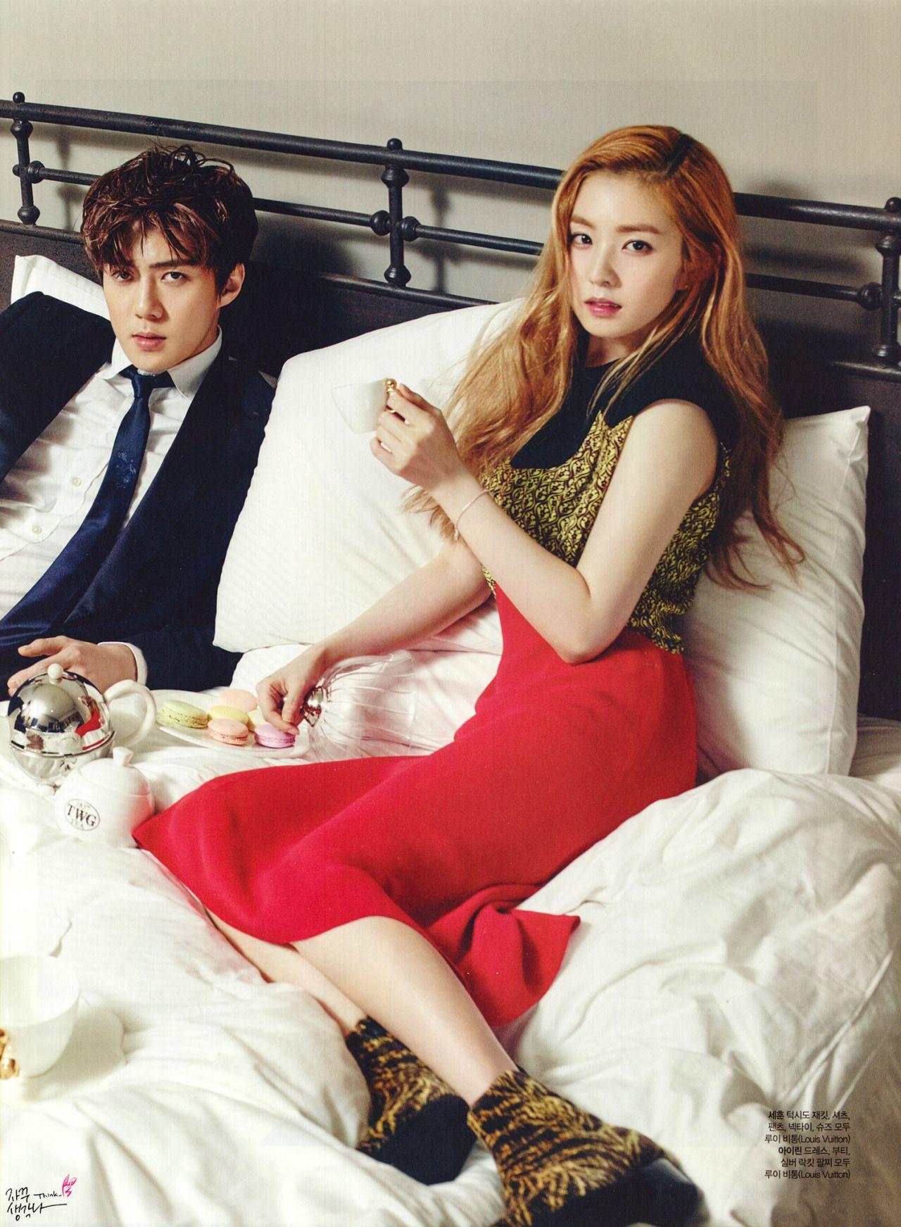Exo sehun and red velvet irene dating games