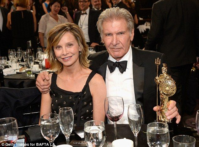 Calista Flockhart Supports Harrison Ford At Bafta Britannia Awards