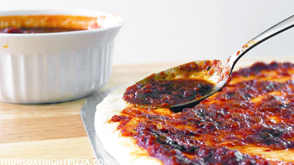 The Basics Homemade Barbecue Pizza Sauce Thursday Night Pizza Recipe Barbecue Pizza Pizza Sauce Homemade Barbecue Sauce