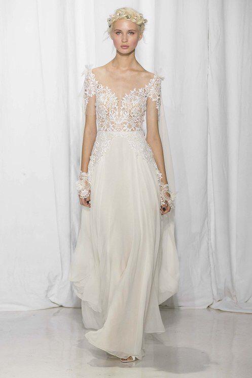 Reem Acra -  Bridal Fall 2017