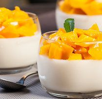 This Mango Panna Cotta Recipe Is Very Quick And Easy To Make. This Light  Dessert Is Perfect After A Large Meal. Mango Panna Cotta Recipe From  Grandmothers ... Design Inspirations