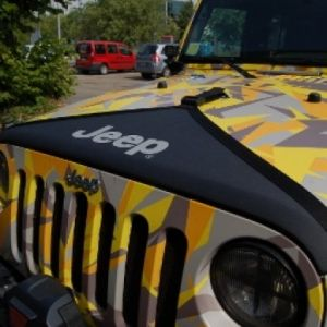 Mopar Black Hood Cover With Jeep Logo Jeep Wrangler Jk Mopar 82210316 Jeep Wrangler Jk Jeep Yellow Jeep