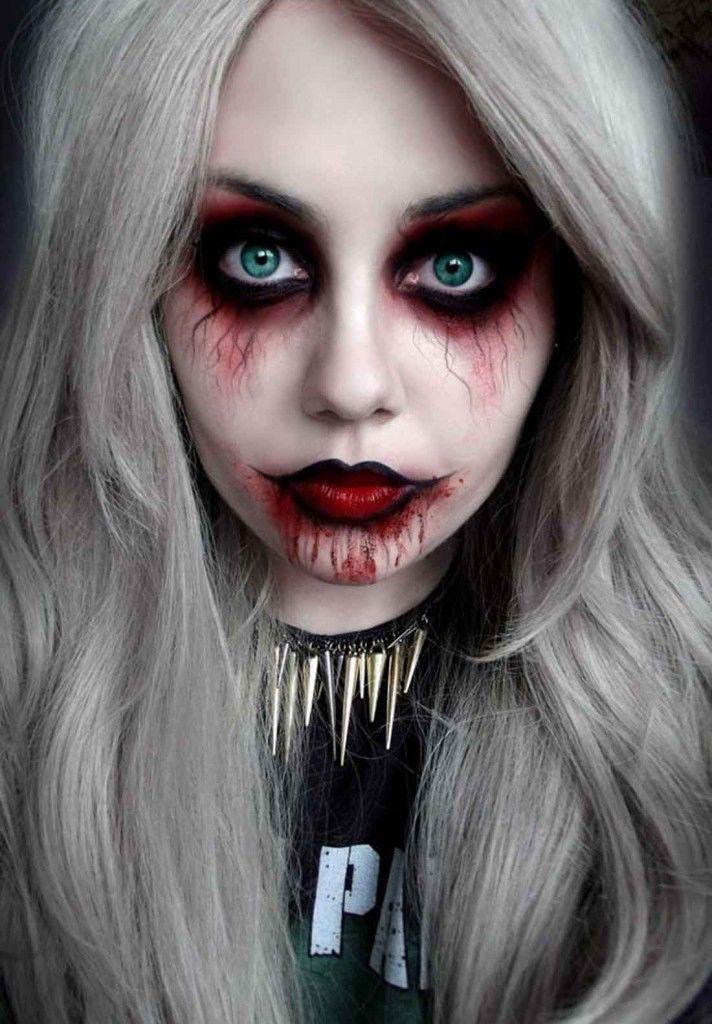 Pin by Nefeli Livieratou on Makeup Pinterest Monster makeup - terrifying halloween costume ideas