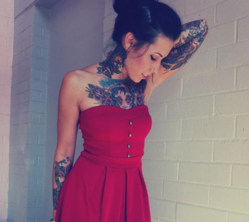 love me some pretty inked girls