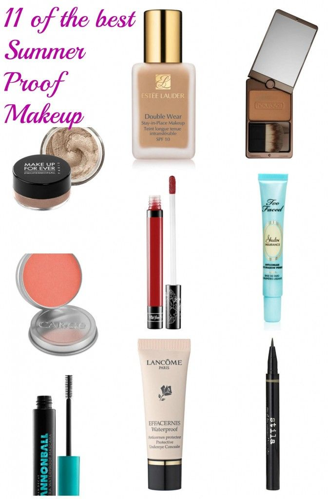 The Best Long Lasting Makeup For Hot Weather Long Lasting Makeup Summer Proof Makeup Makeup