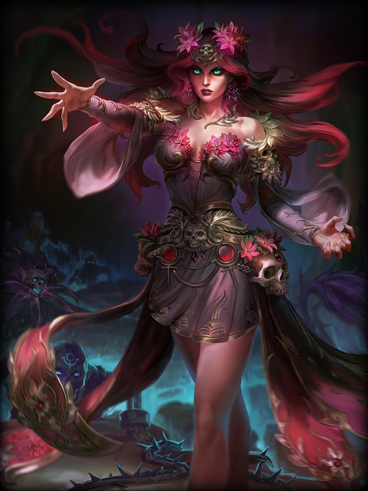 Persephone, the Queen of the Underworld Persephone