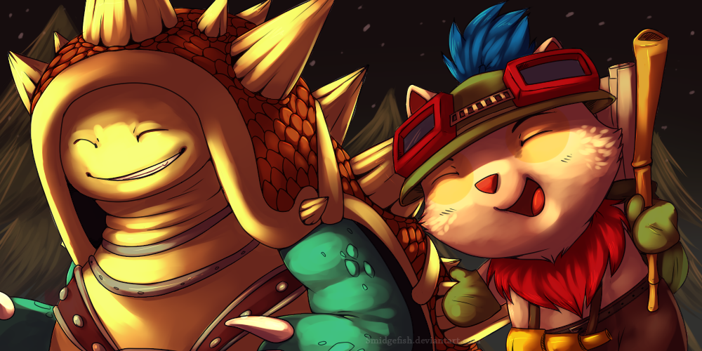 Rammus and Teemo