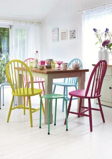 Candy Rose Collection Dunelm Decor Home Bright Dining Rooms Dining Room Colors Woven Dining Chairs