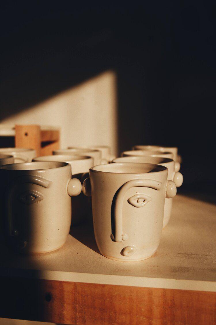 Madriguera Workshop Face Cup In 2020 Diy Ceramic Ceramics Pottery Art Diy Clay Crafts