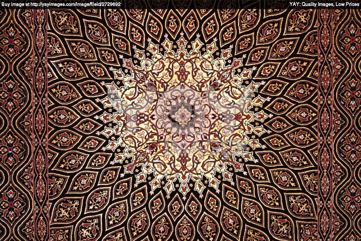 Antique Persian Rug Wallpaper Pattern Textures