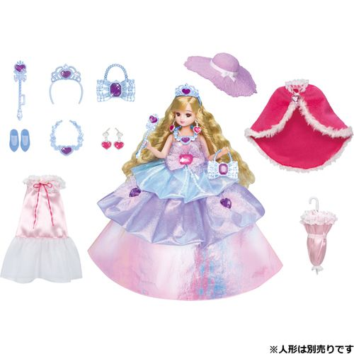 Takara Tomy Licca Dress Dreaming Princess Dress Set DX (974666)