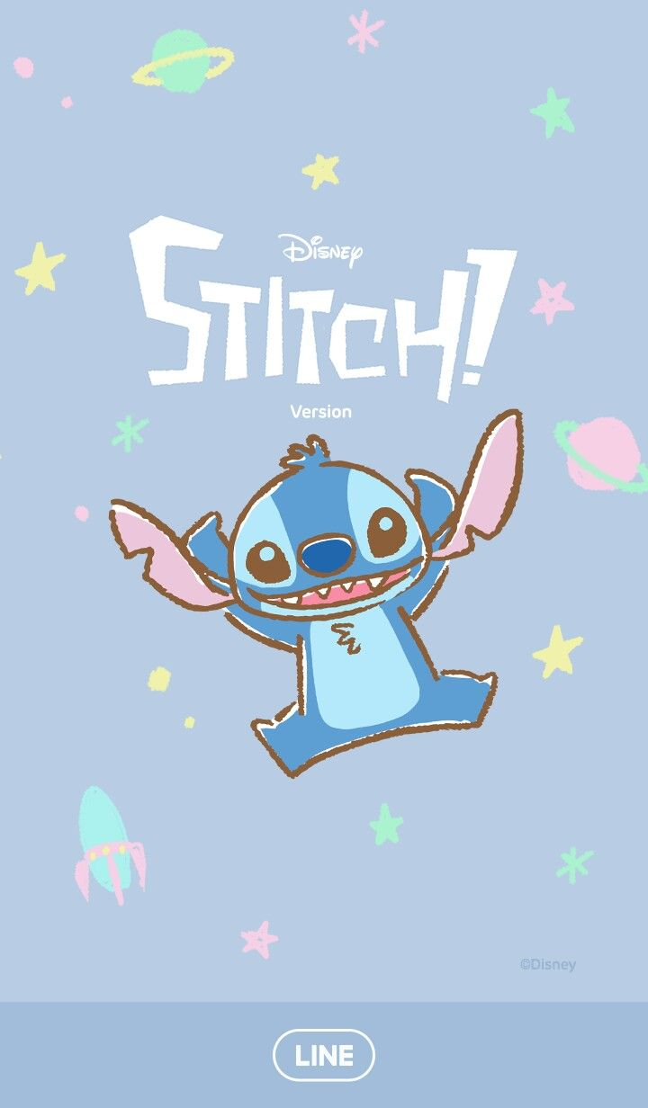 Wallpapers For Computer Cute Trendy Stitch Line Wallpaper Cute Disney Wallpaper Disney