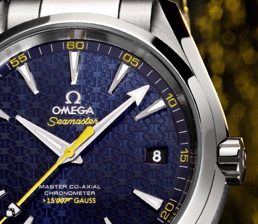 Omega Aqua Terra Seamaster James Bond