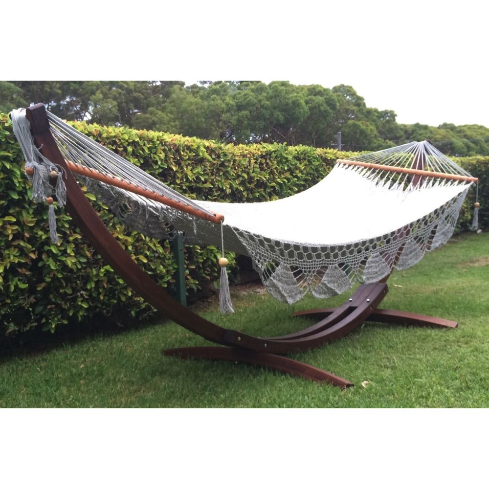 Wooden hammock stand buy online in australia home pinterest