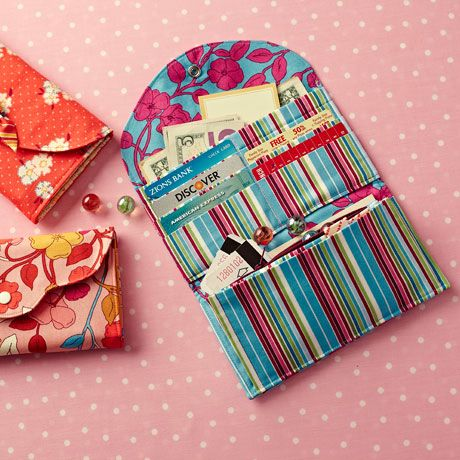 Have It All Wallet sewing pattern: from the folks behind Oliver + S ...