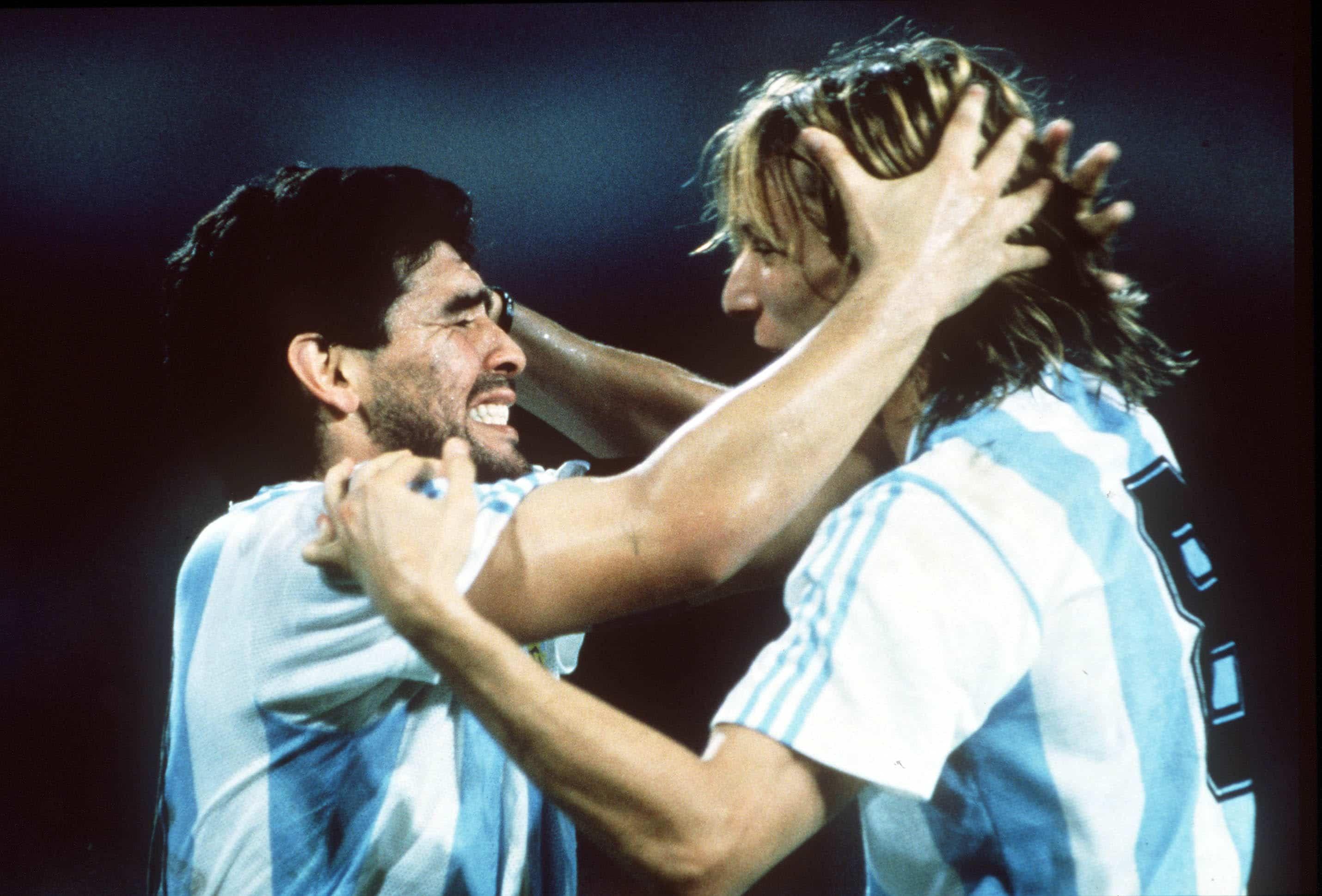 """Caniggia """"Maradona es una leyenda más allá de la camiseta"""