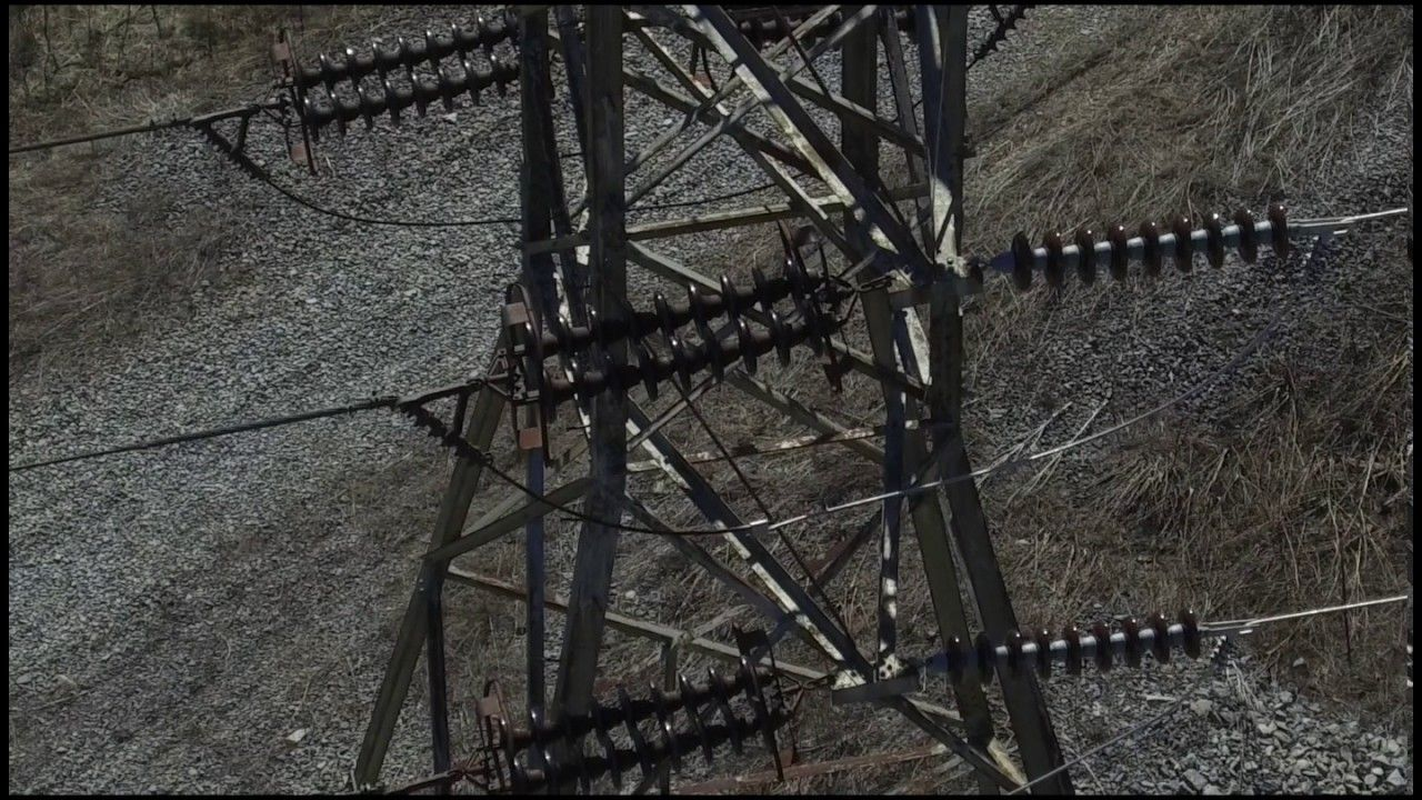 Drone Inspection of Electrical Transmission Tower using an optical