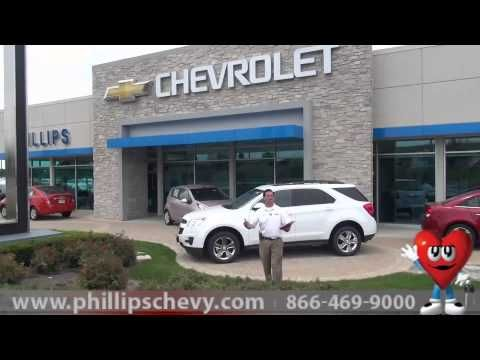 Tell Phillips Chevrolet What Videos You Want To See Chevy Dealer - Chevrolet dealers in chicago