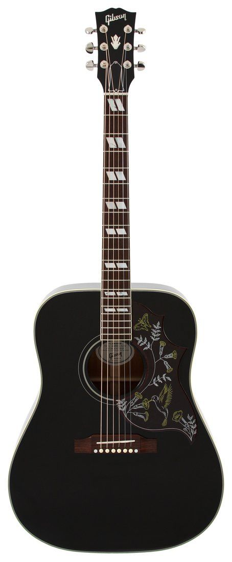 gibson limited edition hummingbird rare black finish my guitars fender acoustic guitar. Black Bedroom Furniture Sets. Home Design Ideas