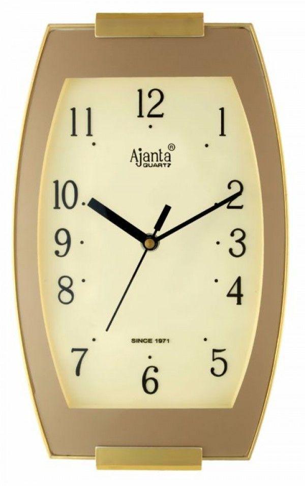 Free Shipping Ajanta Aq 1437 Vertical Stylish Vertical Wall Clock Stylish