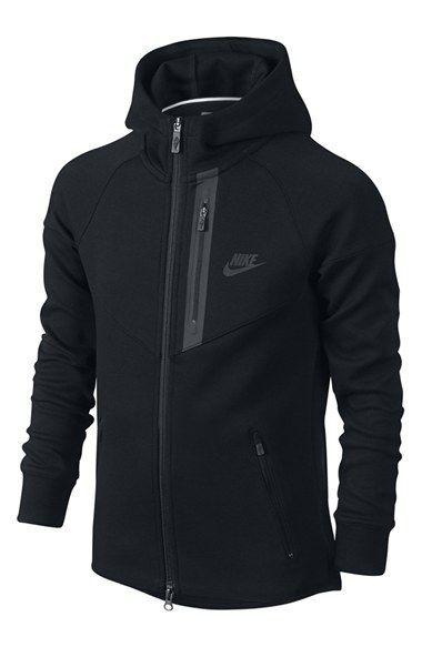 c9ae65efc46c Nike  Tech Fleece Windrunner  Thermal Full Zip Hoodie (Little Boys   Big  Boys)
