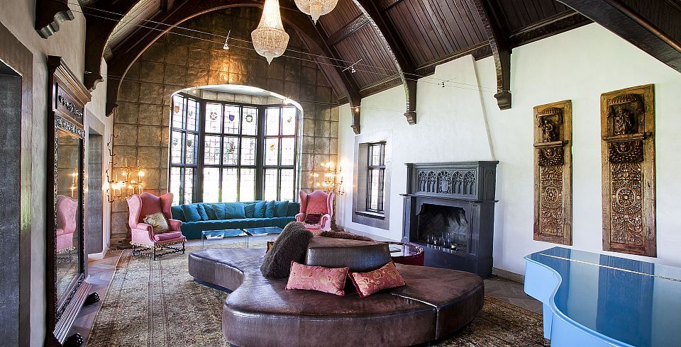 Extensively Renovated Old World Tudor Fireplace Partners Trust