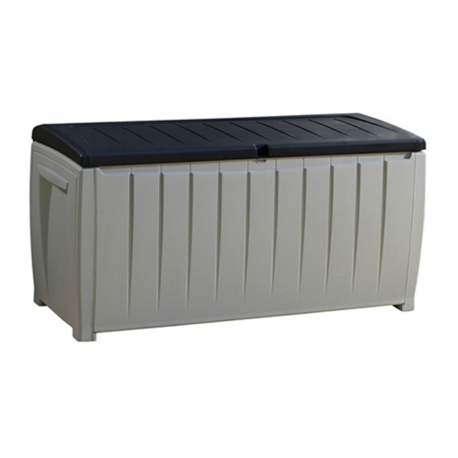 Keter Novel 90 Gallon Deck Box Patio Storage Deck Box Storage