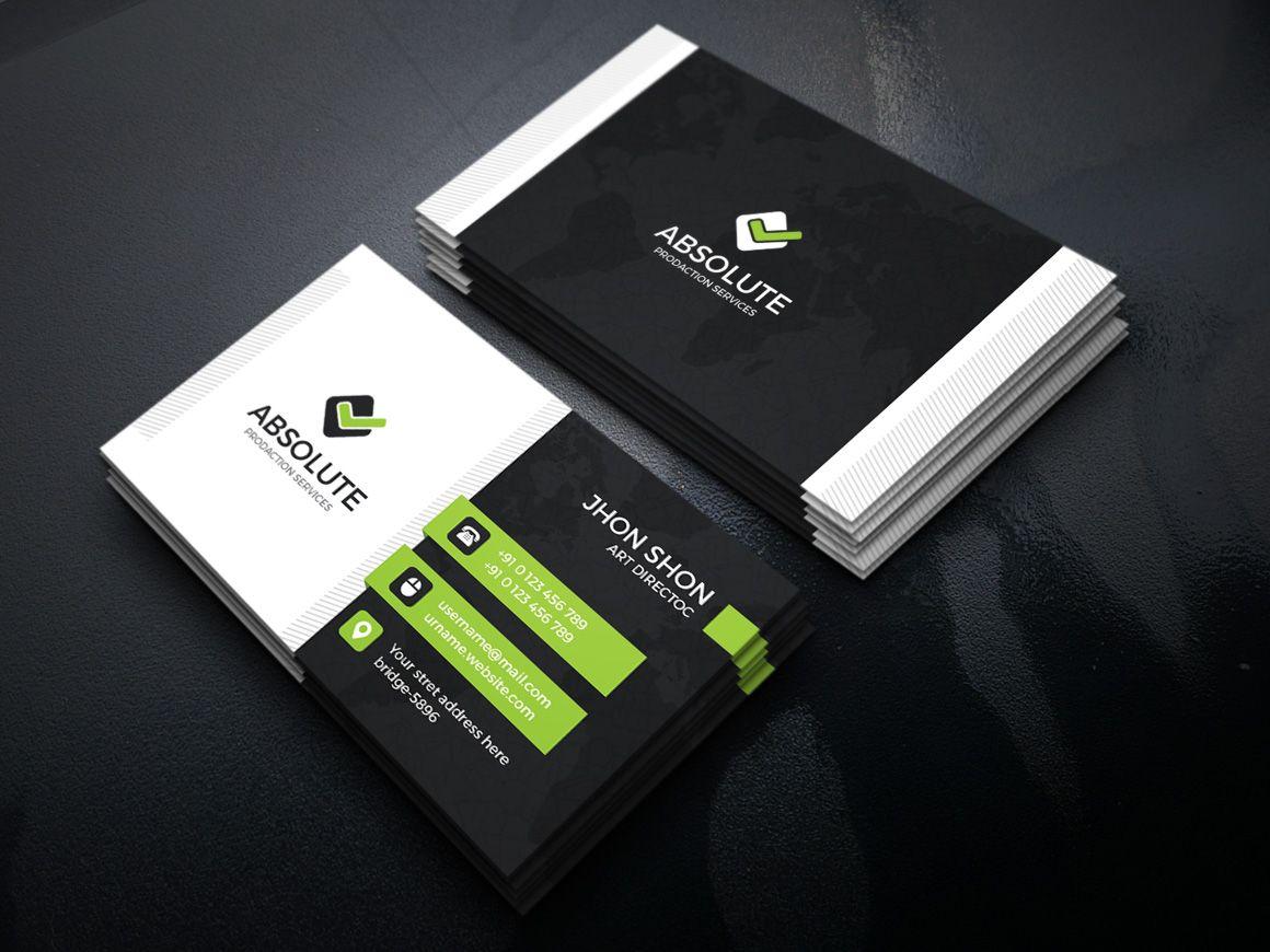 Iron Stylish Corporate Business Card Template Graphic Templates Corporate Business Card Business Card Template Stylish Business Cards
