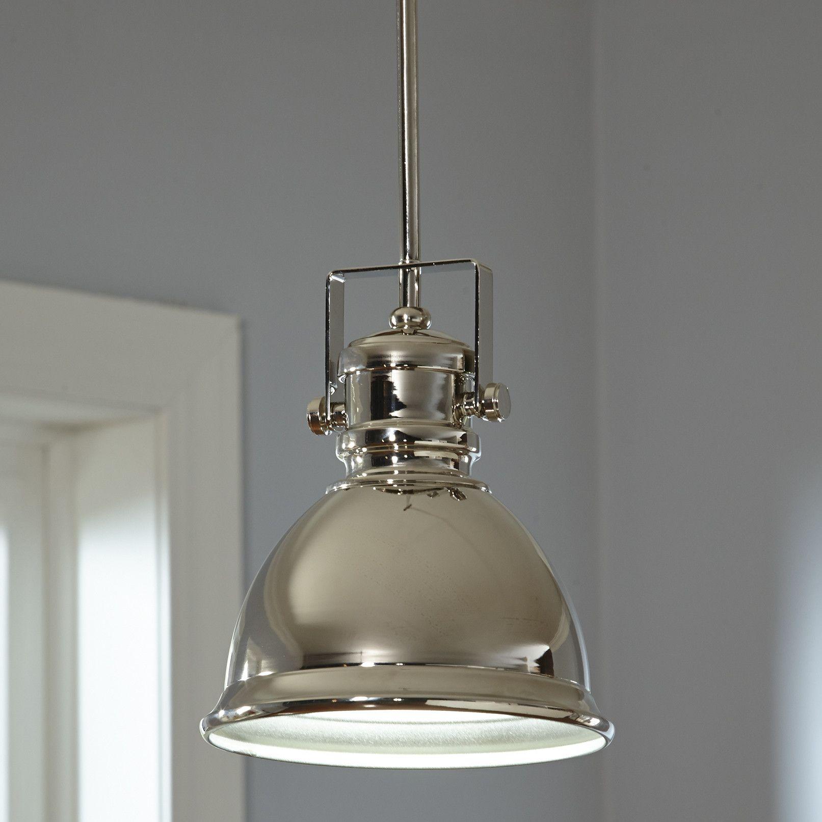 Condo Kitchen Lighting Ideas: Rhodes 1-Light Cone Pendant