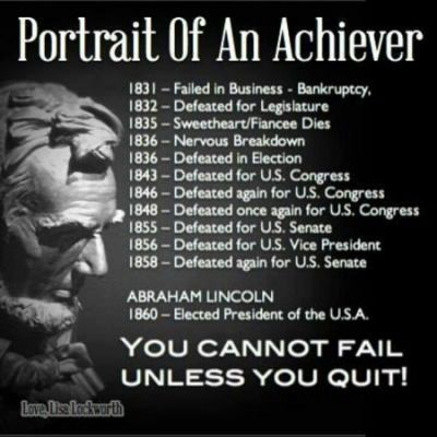Quotes Abraham Lincoln Perseverance For Artin Lincoln Quotes