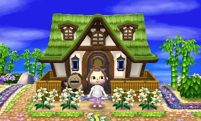 I Would Love This Exterior For Cybil S House Animal Crossing Animal Crossing 3ds Animal Crossing Qr