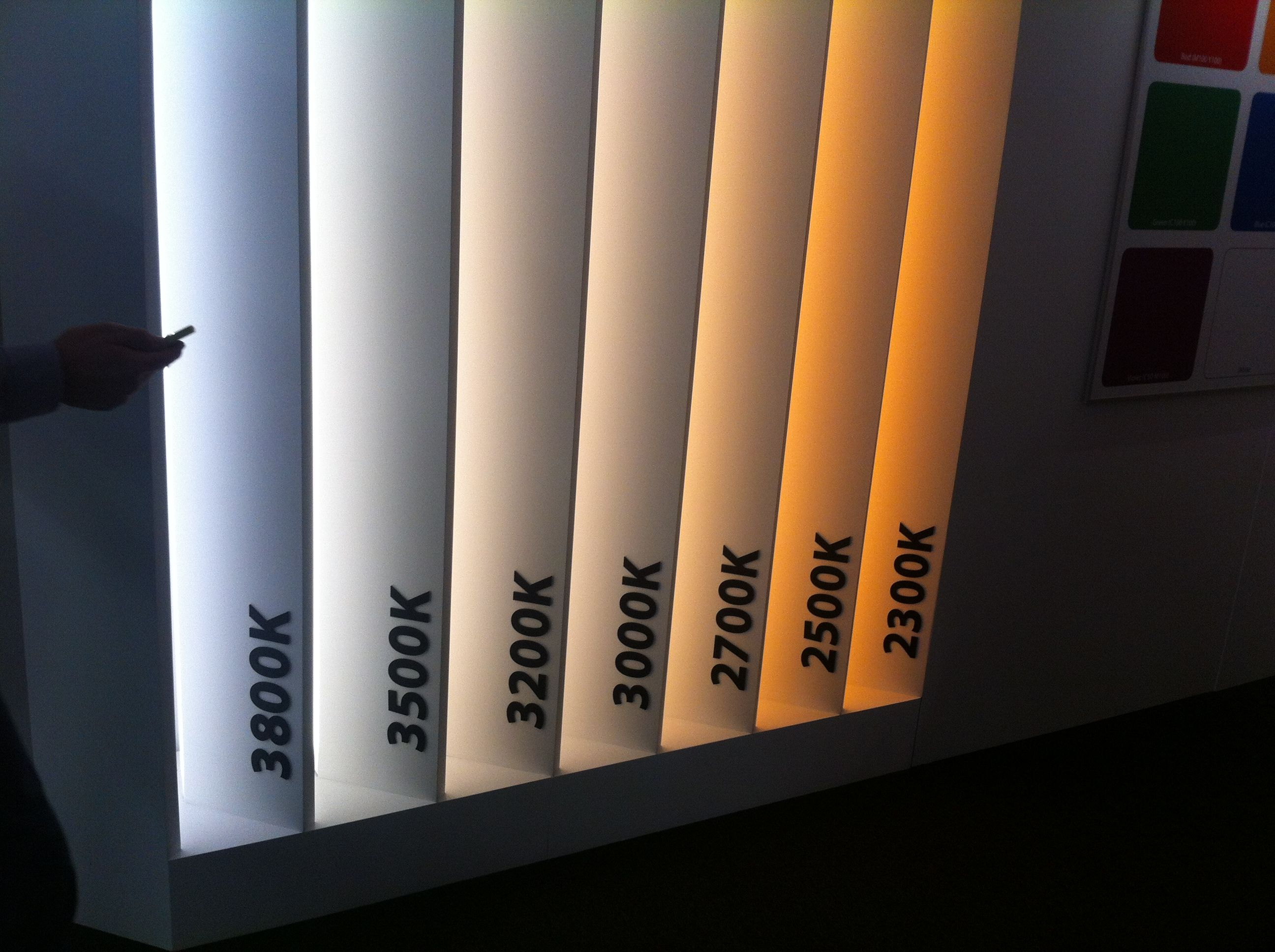 Lighting Colour Temperature KKDC L I G H T I N D E T A