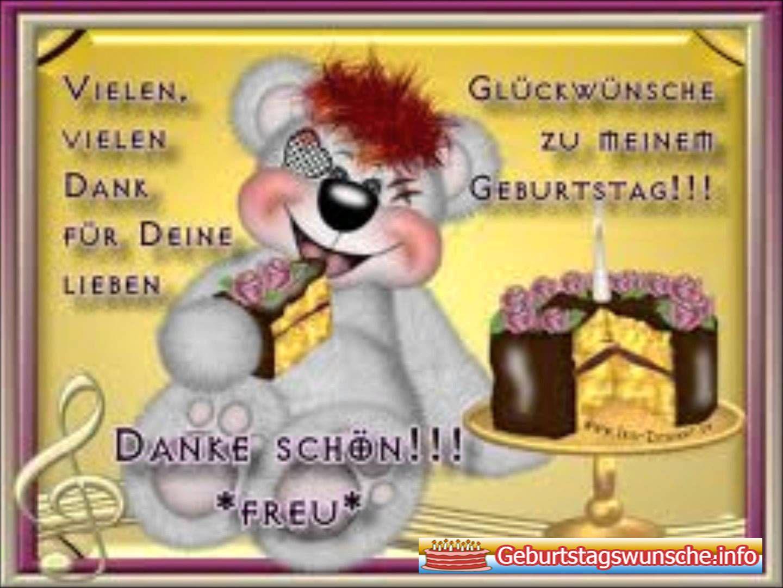 Danke Fur Geburtstagswunsche Auf Whatsapp Danke Gluckwunsche