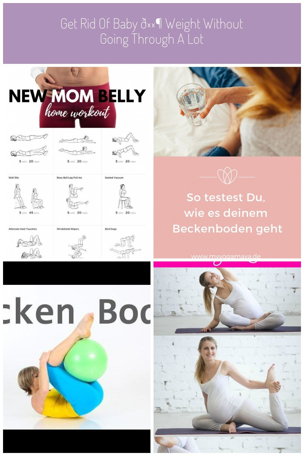 how to get rid of mommy belly after pregnancy