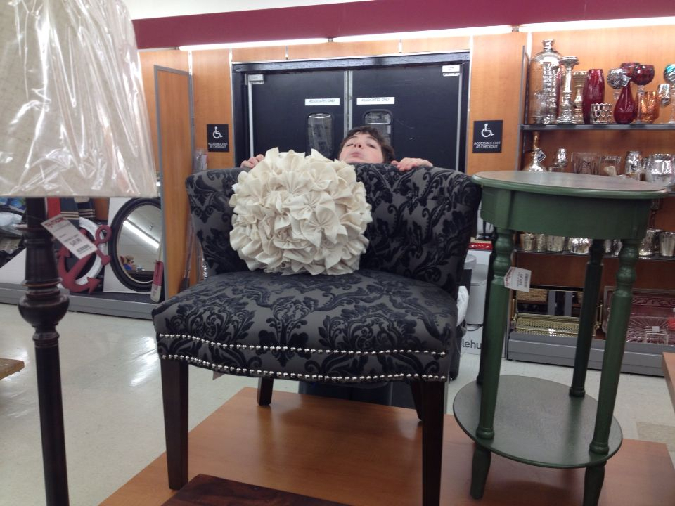 Superbe I Saw This Cynthia Rowley Chair At Homegoods And Loved It, But When I Sat