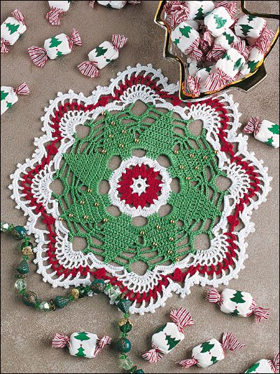 Christmas Tree Doily Christmas Crochet Christmas Crochet Patterns Doily Patterns