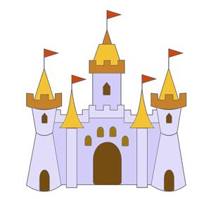 Clipart Images: Free Castle Clipart Pictures | castle theme